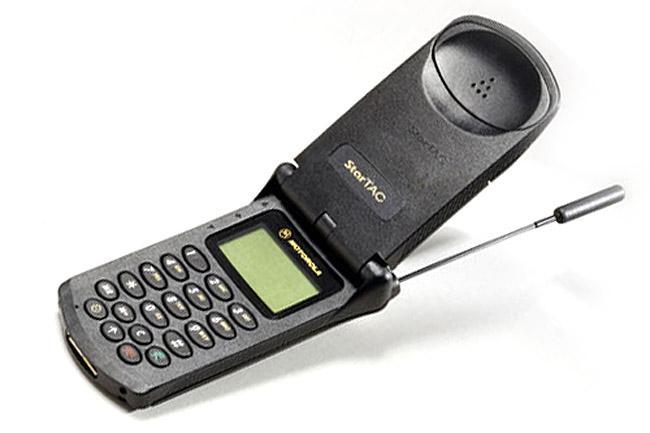 De flip phone komt terug