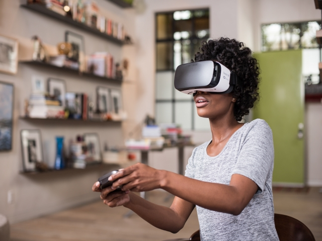 Samsung zet in op virtual reality